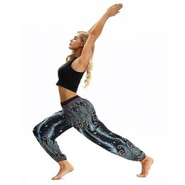 $enCountryForm.capitalKeyWord Australia - New Women Lantern Yoga Pants comfortable Soft Dancing Sport Ethnic Wide leg pants Thailand Elastic Dancing Loose Fit Trousers