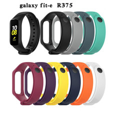 $enCountryForm.capitalKeyWord Australia - New Strap For Samsung Galaxy Fit-e R375 Smart Watch Band For Fit E Fitness Tracker Wristband Accessories Soft Silicone
