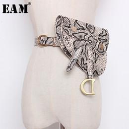 Letter D Pendant Australia - WKOUD EAM 2019 New Fashion Five Colors Optional D Letter Pendant Double-sided Leather Buckle Waist Belt Belt Dual Purpose SC663