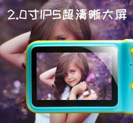 $enCountryForm.capitalKeyWord Australia - Kids Use Digital Camera 2019 Fashion Style Child Use Cartoon Protection Case Digital Camera High Quality products OEM and ODM service