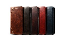 China Fashion Wallet Case Design mobile Real Leather phone back cover folding design mobile phone case For iPhone 7 8PLUS XR with stand supplier real leather back case suppliers