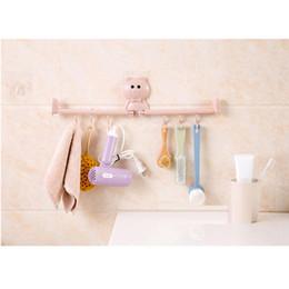 $enCountryForm.capitalKeyWord Australia - Multi-function Rotating Self-adhesive Wall Hook Kitchen Bathroom Door Towel Rack Home Storage Rack Sticky Wall