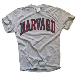 $enCountryForm.capitalKeyWord Australia - New York Fashion Police Harvard University T-Shirt - Arched Block - Officially Licensed
