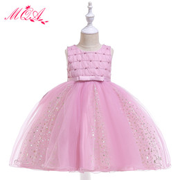 a802c428a 2019 girls clothing 3-8 years old birthday party girls dresses for party  and wedding princess dress baby kids birthday clothes