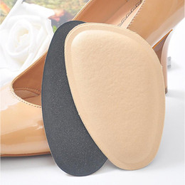 kit code NZ - Half Code Pad High Heels Sponge Anti Pain Shoe Insoles Cushions Foot Heel Protector Feet Care Pad Front Feet Massage Cushion