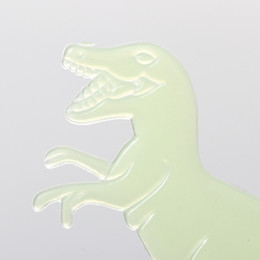 glowing dinosaur toy 2020 - kids stickers toys 1Set 9Pcs Popular Glow In The Dark Dinosaurs Toys Stickers Ceiling Decal Baby Kid Room cheap glowing