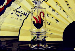 $enCountryForm.capitalKeyWord Australia - Upper Swan and Lower Claw Tobacco Bottle Bongs Oil Burner Pipes Water Pipes Glass Pipe Oil Rigs Smoking Free Shipping