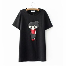$enCountryForm.capitalKeyWord Australia - Plus Size Cotton Tshirt Women Short Sleeve Girls Printed Loose Casual Summer Tee Tops Ladies O neck Shirts YY1911