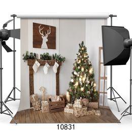 Digital Christmas Backdrops Australia - Vinyl Custom Photography Backdrops Prop digital printed Vertical Christmas day theme Photo Studio Background JLT-10831