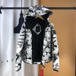 0ebfa4ea2334c6 2018 Mens Designer Clothing Luxus-Windjacke Marke Kleidung Gans Kanada  Jacken Winter Parka Kunstpelz Mäntel Streetwear Daunenjacke
