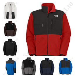Men wool coat hood online shopping - Winter Men s Softshell Jacket The North Brand Coat Outwear Polar Fleece Warm Thicken Jacket Windproof Face Men Hoodie NF Windbreaker C112101