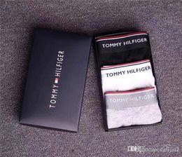 $enCountryForm.capitalKeyWord Australia - New hot cotton underwear luxury designer boxer soft cotton breathable letter underwear shorts tight waistband men's fashion belt box