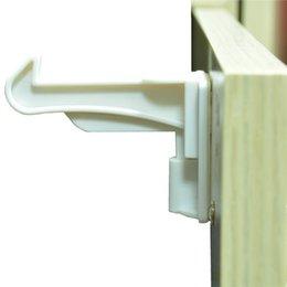 Novo 10 pcs Criança Proof Gabinete Locks 3 M Adesivo Invisível Sem Ferramentas Ou Perfuração Necessários Para Gavetas Armários Armário # 291363