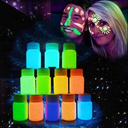 $enCountryForm.capitalKeyWord Australia - 20ml UV Glow Neon Face Body Paint Fluorescent Bright Fluo Irradiate luminescent Party Festival Decoration Party Makeup