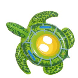$enCountryForm.capitalKeyWord Australia - Baby Swimming Ring Inflatable Infant Seat Floating Kids Swim Pool Accessories Circle Tortoise Cute Animals pool inflatable buoy