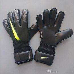 Leather Wrist Gloves Australia - 2019 VG3 models Soccer Goalkeeper Gloves brand Goal Keeper Gloves Goalie FootballBola De Futebol Gloves Luva De Goleiro wholesale price