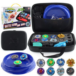 constellations beyblade UK - New Beyblade Mobile Arena Stadium 8pcs Set kit 4D Constellation Beyblade Burst Gyro Duel Spinning with Bayblade Disk Bey blade Launchers