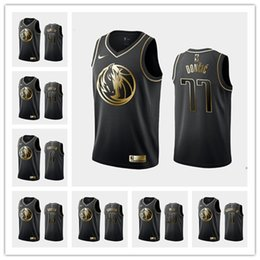 dallas black jersey UK - Custom Men's