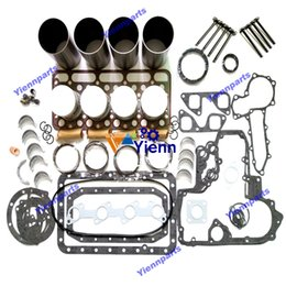 $enCountryForm.capitalKeyWord Australia - V1702 overhaul rebuild kit with valve for Kubota engine kit CLARK SKID STEER LOADERS 743 85-83 V1702 Std 743 82-81 V1702 Std