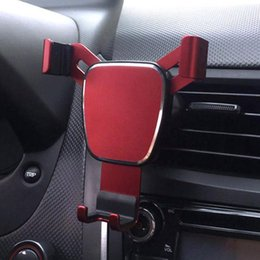 gravity model 2019 - Universal 360 Degree Gravity Car Phone Holder Air Vent Mount Stand for Phone 3 Colors 2 Models cheap gravity model