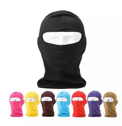 $enCountryForm.capitalKeyWord Australia - Outdoor Hats Protection Full Face Micro Fiber Lycra Balaclava Headwear Ski Neck Cycling Motorcycle Mask Wholesale OEM Print logo DHL