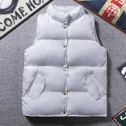 Discount sleeveless vest coat for men New Arrival Men Casual Vest Coats For Autumn Winter Young Fashion Streetwear Man Sleeveless Jacket Waistcoat Size M-3XL