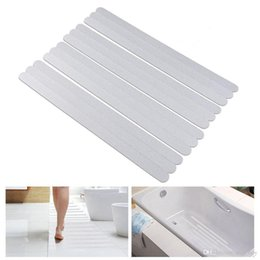 Discount bath tub anti slip - Bathtub Stickers Non-Slip Showers Strips For Safety Bathroom Tubs PEVA Anti-Slip Shower Treads And Adhesive Decals Scrap