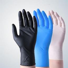 Großhandel Einweg-Schutz Nitrilgewebe Lebensmittel Handschuhe Universal-Haushalt Garten Reinigung Handschuhe