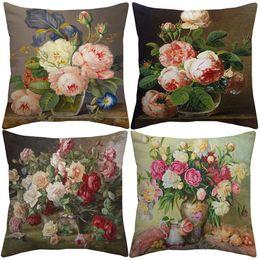 Vintage Rose Cushion Covers Online Shopping | Vintage Rose Cushion ...