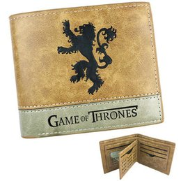 $enCountryForm.capitalKeyWord Australia - Lannister wallet Game of Thrones note purse Casterly Rock house short leather cash note case Money notecase Change burse bag Card holders