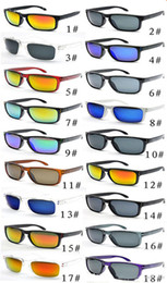 cycle sunglasses sale NZ - Hot Sale Cheap sunglasses For Men sport cycling Desinger sunglasses dazzle colour mirrors glasses 18 colors free shipping