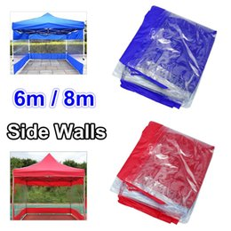 $enCountryForm.capitalKeyWord Australia - Polyester Canopy Side Wall Carport Garage Enclosure Shelter Tent Party Sun Wall Sunshade Shelter Tarp Sidewall Sunshade 6 8M