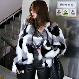 plus size faux fox vest Australia - Fashion-Women Fake Fur Sherpa Shaggy Coat 2018 Winter Plus Size Fur Jacket Women Clothes White Faux Coat