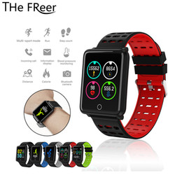 $enCountryForm.capitalKeyWord Australia - F3 Smart Bracelet Color Screen Heart Rate ing Track Movement IP68 Waterproof Health for Smart Watch men