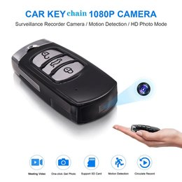 $enCountryForm.capitalKeyWord Australia - Full HD car keychain mini DV camera 1080P IR night vision micro camera Portable car keychain video recorder support motion detection