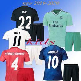 9e534ab1b89 2019 kids Maillot Real madrid Jersey Benzema ASENSIO football Soccer Modric  Kroos Sergio Ramos Bale Marcelo 18 19 Real Madrid shirts