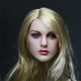 "$enCountryForm.capitalKeyWord Australia - 1 6 Female Head Sculpt Beauty European Girl Headplay For 12"" PH Jiaodol TTL Action Figure"