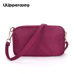 $enCountryForm.capitalKeyWord Australia - 2019 Fashion Women Shoulder Bag Oxford Small Flap Bag Casual Lady Double Zippers Messenger for Girls Mini Hand Bags 7 Colors