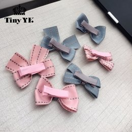 Hair Clip Cover Baby Australia - New Arrival Girl Kids Baby Bow Hairpins Bowknot 2019 Clip Children Hair Accessories Full Cover Clips
