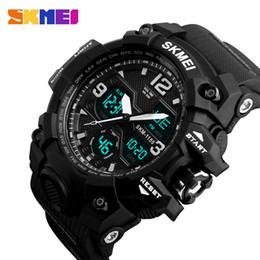 $enCountryForm.capitalKeyWord NZ - Skmei New Fashion Men Sports Watches Men Quartz Analog Led Digital Clock Man Military Waterproof Watch Relogio Masculino 1155b T190701