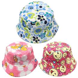 eb69fc8bba1a9b Wholesale Baby Infant Sun Hats Australia - 30 COLORS Toddler Baby Hat  Boys&Girls Cotton Print Infant