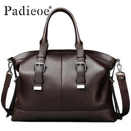 $enCountryForm.capitalKeyWord NZ - Vintage New Handbag Ballet Messenger Men Tide Bag Leather Briefcase Business Men's Messenger Bag Leather Casual Shoulder Bag Leather