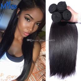 $enCountryForm.capitalKeyWord Canada - MikeHAIR Wholesale Brazilian Malaysian Peruvian Straight Human Hair Most Popular Princess Hair Products Raw Indian Human Hair Weave 4 Pieces