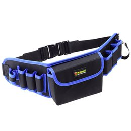 $enCountryForm.capitalKeyWord Australia - LJL-Tool Bag With Cover Tool Belt For Screwdriver Pouch Durable Waist Tool Holder Adjustable Electric Drill Bag