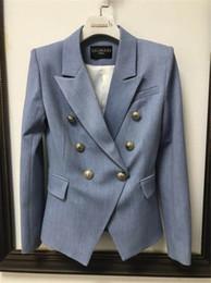 Long top coats online shopping - Balmain Women Clothes Top Luxury Blazers Womens Suits Coat Balmain Womens Designer Clothing Jacket Size S XL