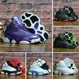 $enCountryForm.capitalKeyWord UK - 2019 Online Sale Cheap New 13 Kids basketball shoes for Boys Girls sneakers Children Babys 13s running shoe Size 11C-3Y NI520