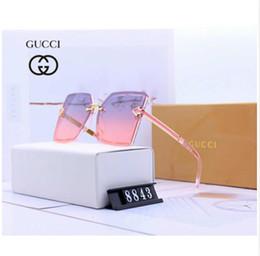Discount sunglasses glasses stylish - 2019Luxury Sunglasses Designer Sunglasses Brand Sunglass Stylish Sunglass Fashion for Womens Glass UV400 with Box New Ar