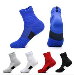 $enCountryForm.capitalKeyWord Australia - Wholesale Men Basketball Elite Socks Hiking Walking Sport Outdoor Recreation Crew Cotton Knee High Socks