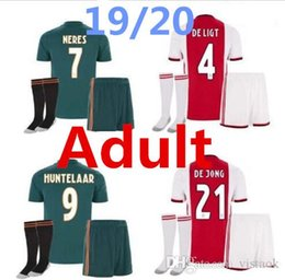 Delivery uniform online shopping - high quality New Ajax kit Soccer Jersey Ajax away Customized KLAASSEN NOURIB free delivery football uniform