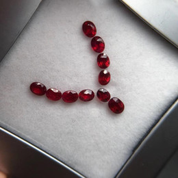 ruby stone necklace 2019 - Red Ruby Natural 2.41ct Ruby Loose Gemstones Loose Stones for Jewelry Necklace Making cheap ruby stone necklace
